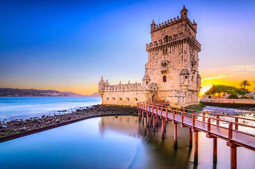 Torre de Belém , Belém, Lisbon, Portugal