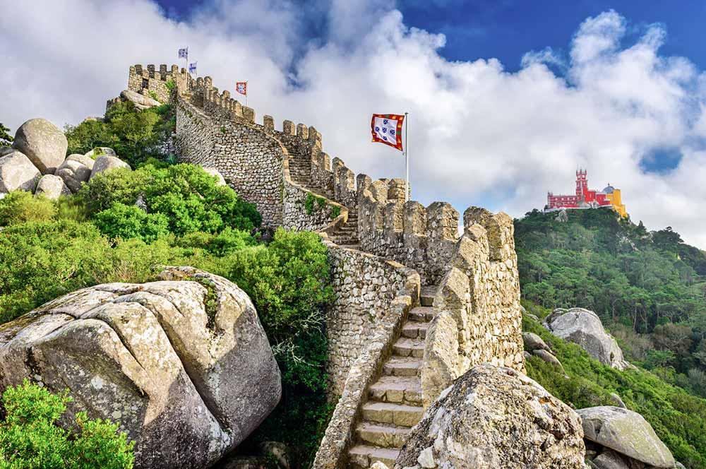 Castelo dos Mouros Sintra, Portugal