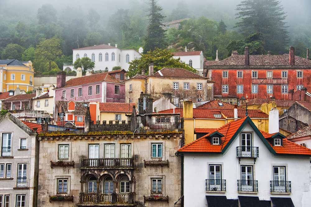 Village of Sintra, Portugal