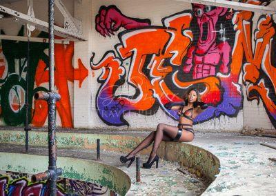 Urban Ruins, Detroit, Michigan
