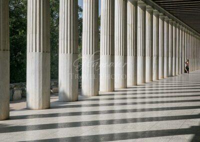 Stoa of Attalos Museum, Athens, Greece