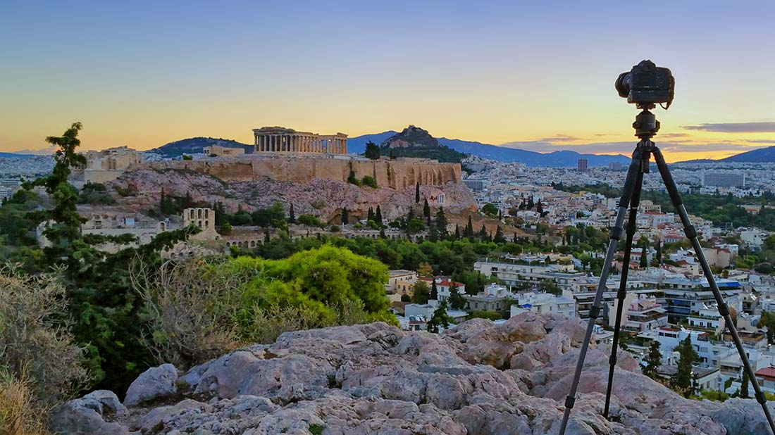 parthenon at sunrise